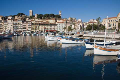 The Port of Cannes, France