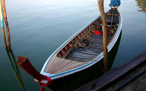 A Longtail Boat